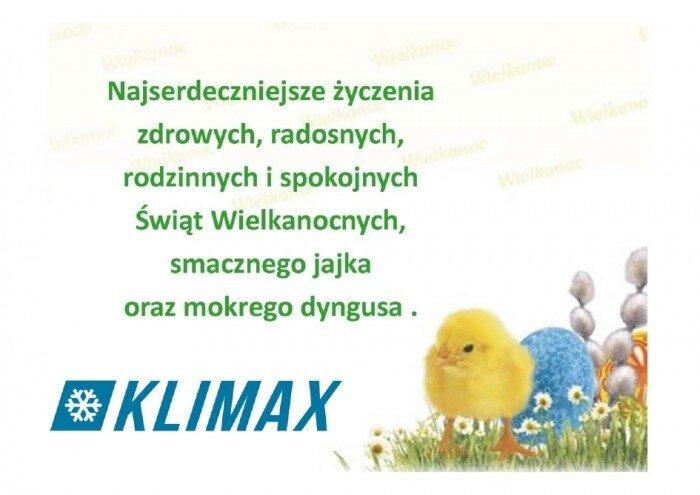 życzenia wielkanocne - KLIMAX